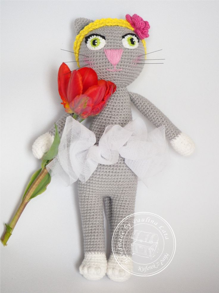 Amigurumi cat, crochet cat