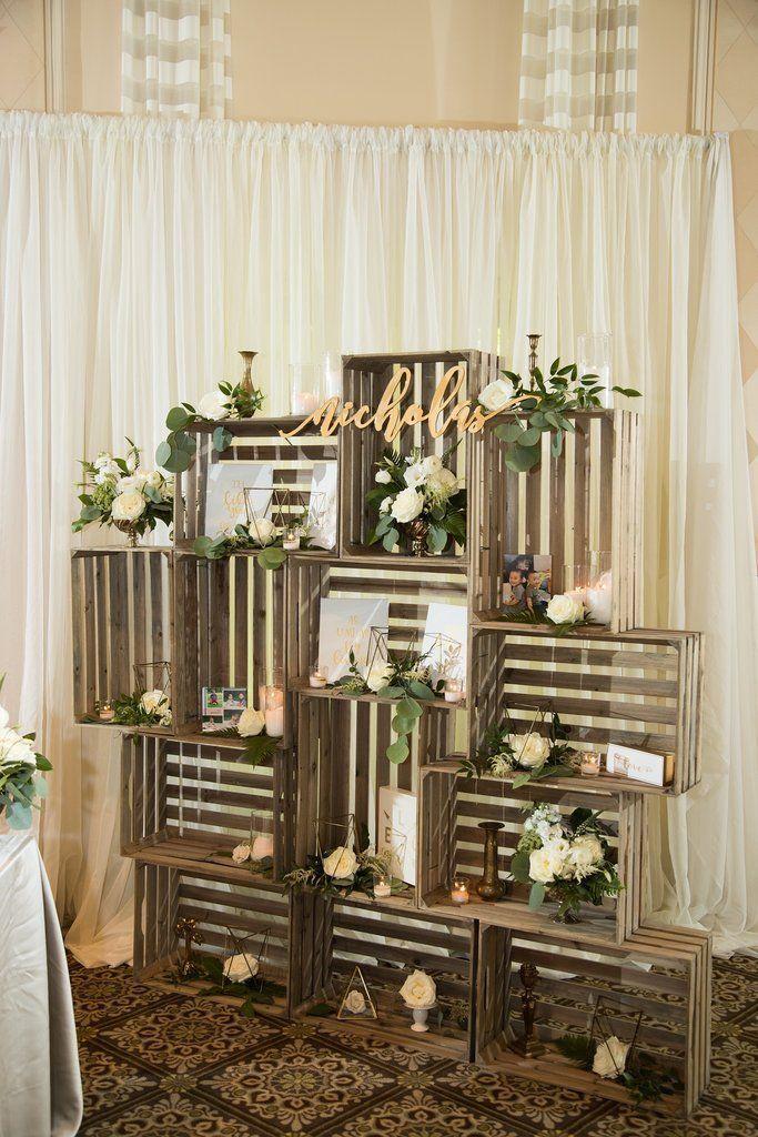 30 Custom Name Sign Acrylic Winter Wedding Decorations Interior Design Rustic Decor