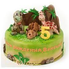 Resultado de imagem para динозавр торт