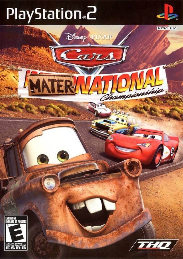 Cars Mater National Championship Ingles Ntsc Ps2 Game Pc Rip Disney Pixar Pixar Disney