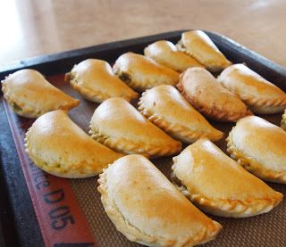 Baked Vegetable #Samosas - a #Thermomix #Recipe via The Bush Gourmand