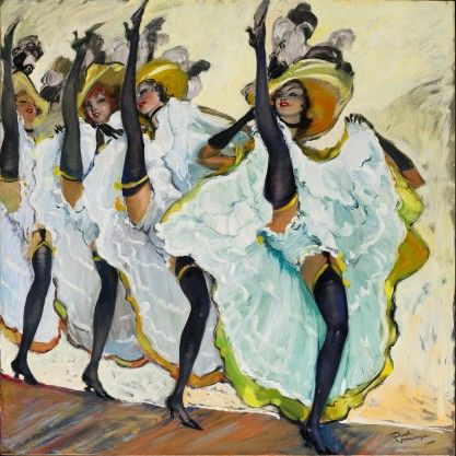 Le French Can-Can  -  Jean-Gabriel Domergue, France (1889-1962)