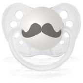 """Tétine """"Moustache"""" 8€"""