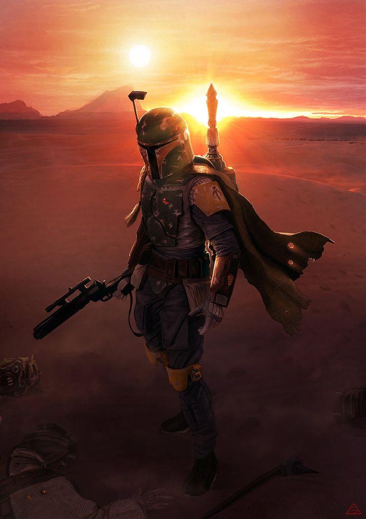 25 Illustrations et Fan arts en digital painting de Star Wars | Design Spartan : Art digital, digital painting, webdesign, ressources, tutoriels, inspiration