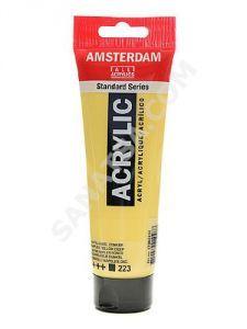 Talens Amsterdam Akrilik Boya 120 ml. 223 Naples Yellow Deep