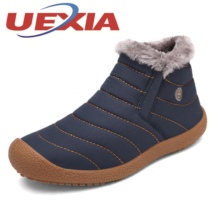 Winter Unisex Casual Snow Boots Lightweight Plush Ankle Boots For Men Lovers Outdoor Fashion Warm Shoes With Fur Botas Mujeres *** AliExpress Affiliate's buyable pin. Locate the offer on www.aliexpress.com simply by clicking the VISIT button