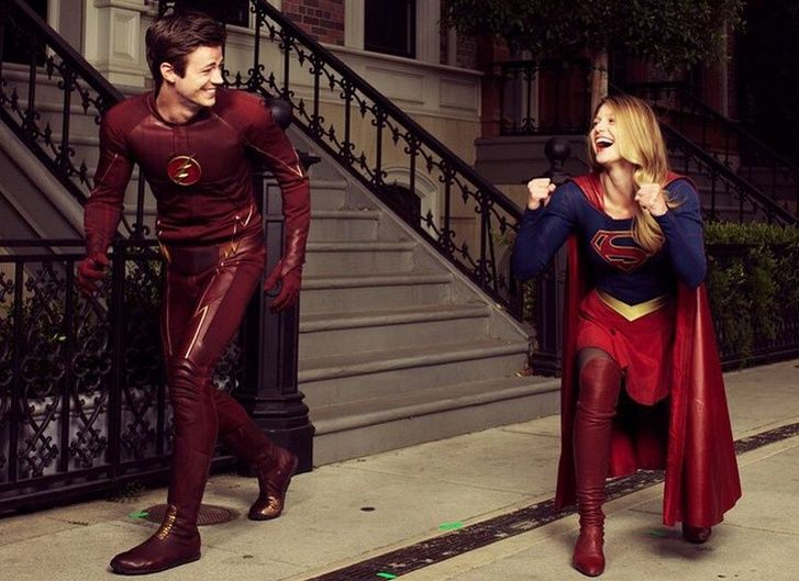 The Flash and Supergirl Crossover Is Happening, People