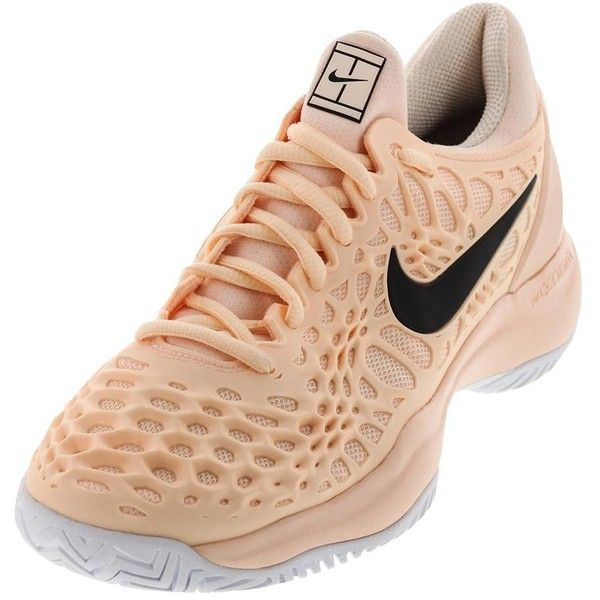 Nike Women S Zoom Cage 3 Tennis Shoe In Crimson Tint And Black 130 Liked On Polyvore Featuring Tennis Shoes Shoes For Playing Tennis Tennis Shoes Sneakers