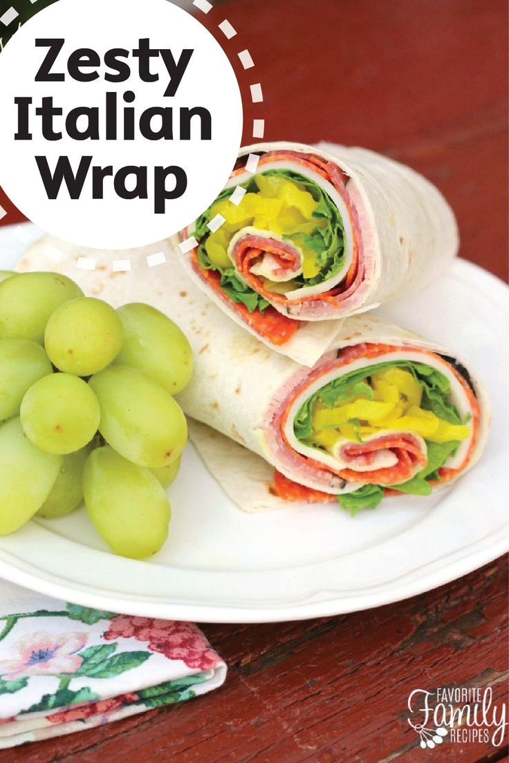 Great for packing in your lunch for a delicious meal at work or school, this Zesty Italian Wrap is quick and easy to prepare. Wrap ham slices, salami, pepperoni, provolone cheese, and banana peppers in a flour tortilla to make this simple recipe. Make sure to include a Bounty Paper Towel in your lunchbox to keep your hands clean.
