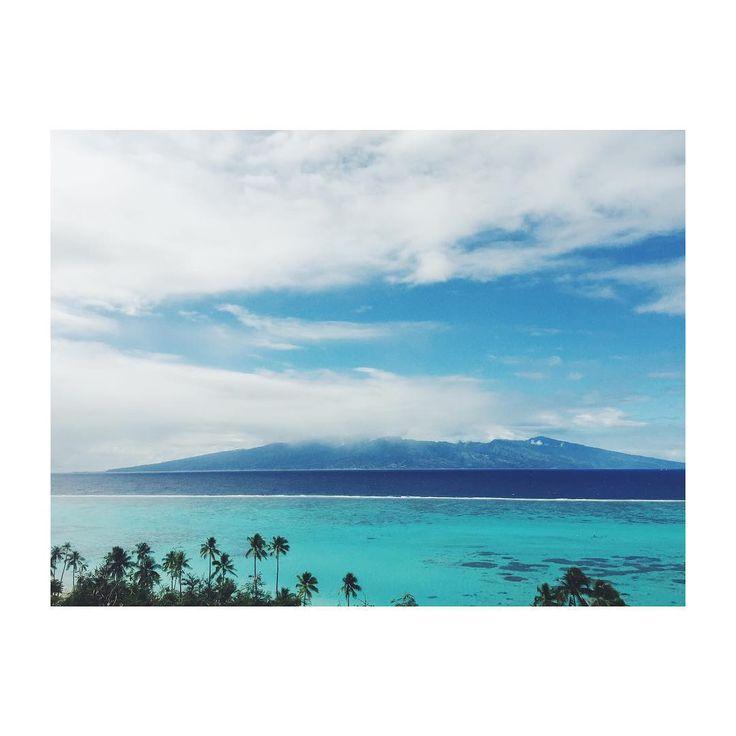 Dead of winter in Tahiti #equatorlife #moorea
