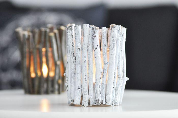diy kerzenhalter herbst holz [Blogger for Fall] Herbstlicher DIY Kerzenhalter aus Zweigen
