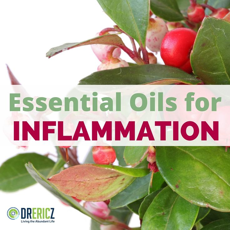EOs for Inflammation and controlling arthritis