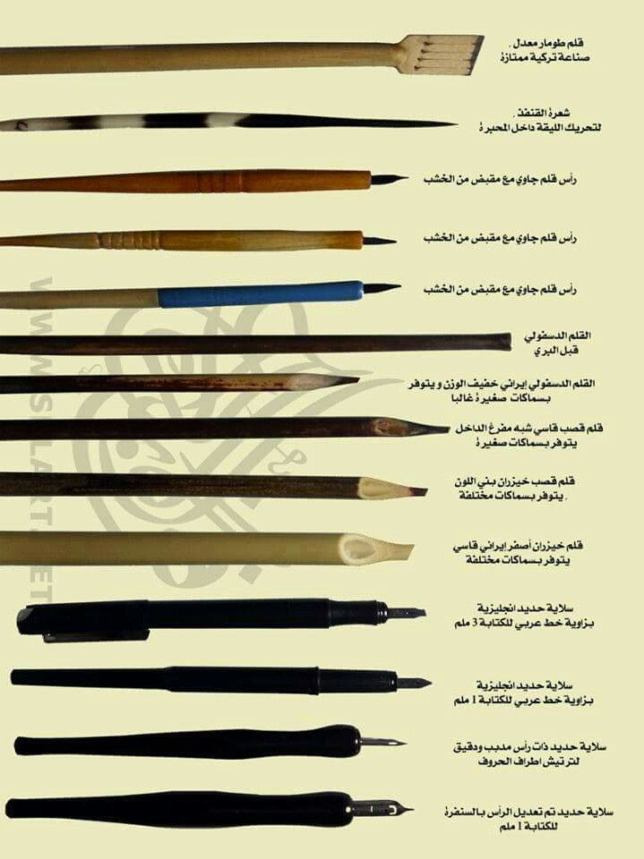 126 best calligraphy tools images on pinterest Arabic calligraphy tools