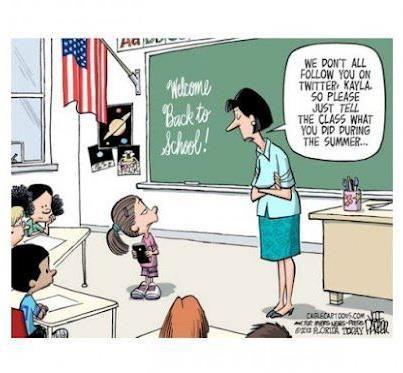 Sign of the Times! Tech Cartoons Social media humor