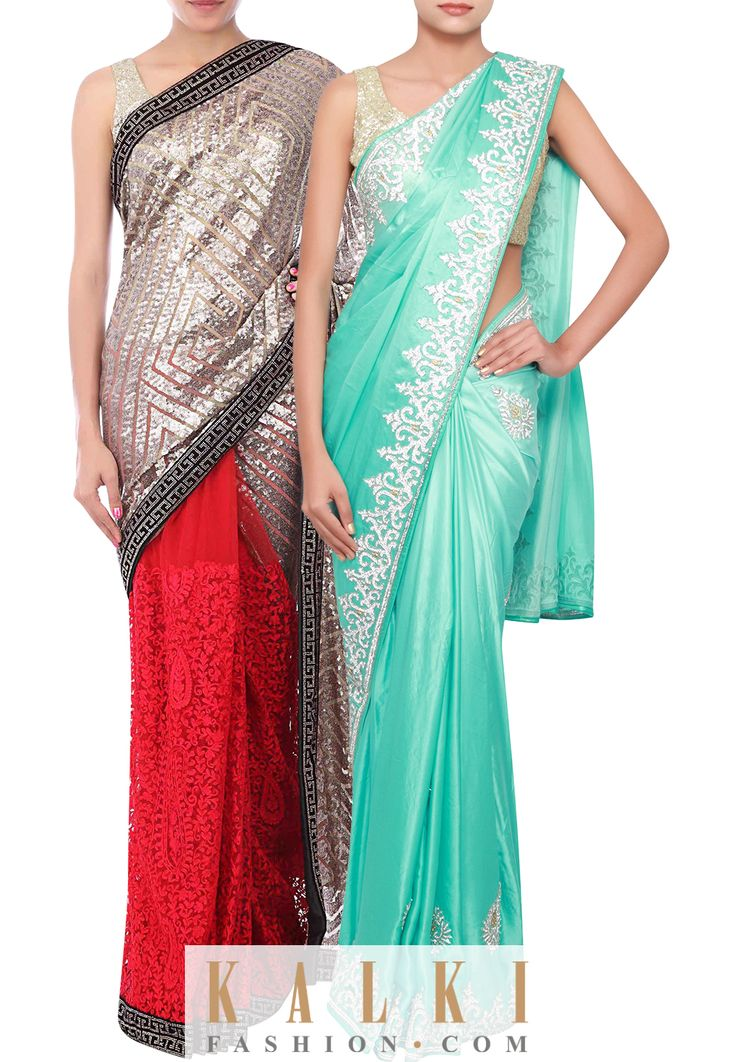 SPRING SAREES! Dress up in our gorgeous designer sarees which are perfect for every occassion! Shop: http://tiny.cc/mnldvx