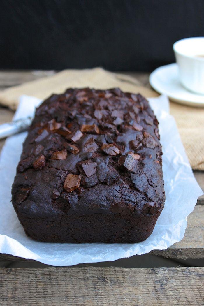 moist chocolate banana bread