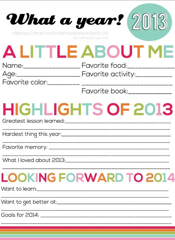 New Year's Resolutions FOR KIDS plus 12 songs, printables, kids activities, and decor! #NewYears