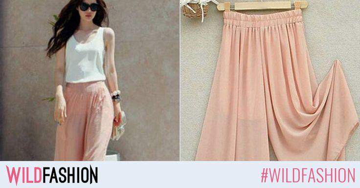Vaporos, delicat, perfect pentru vară. Like dacă îți plac pantalonii sau share unei prietene care își caută.