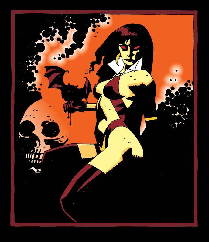 Vampirella •Mike Mignola