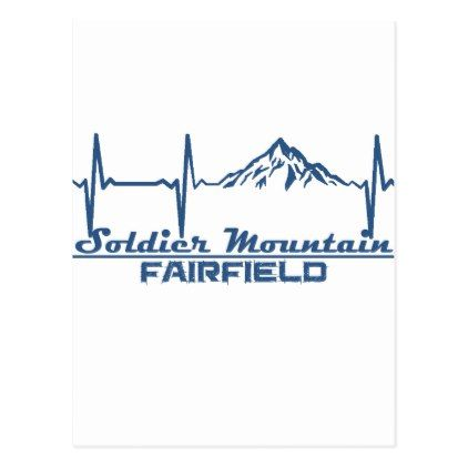 Soldier Mountain  -  Fairfield - Idaho Postcard - postcard post card postcards unique diy cyo customize personalize