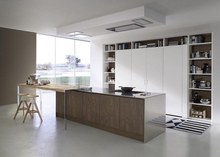 Línea System Collection by #pedini #interiordesign #diseñodeinteriores #ambientesconestilo #madeinitaly #kitchen