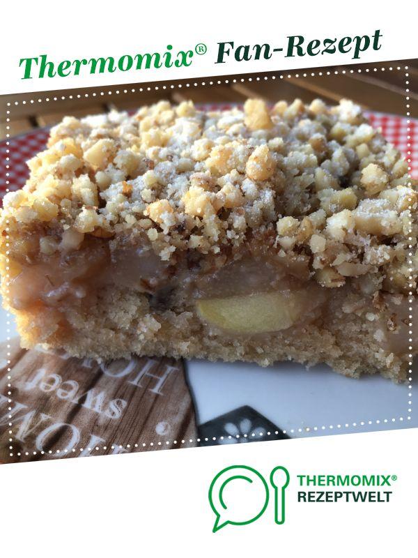 Apfel Birnen Walnuss Kuchen Aus Tm Magazin 5 16 Von Mixsusilein