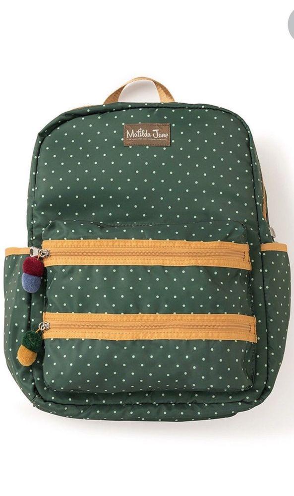 New  Matilda Jane Scholarly Me Backpack Travel Bag Diaper Bag free shipping
