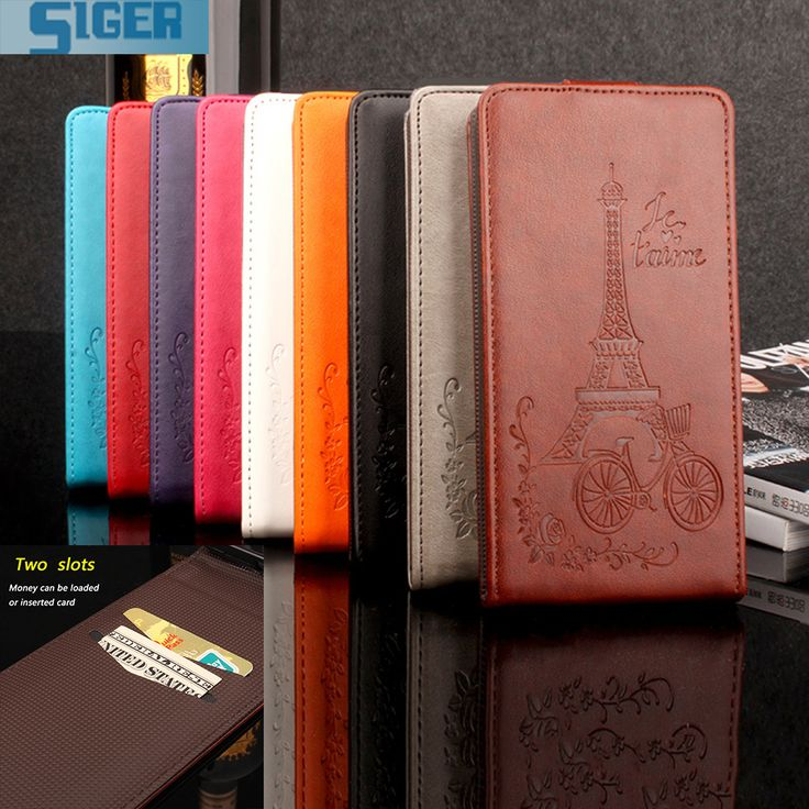 Elephone S7 Mini Case Flip PU with Stick Card Slot Wallet Magnetic Pattern Vintage Phone Case Cover for Elephone S7 Mini