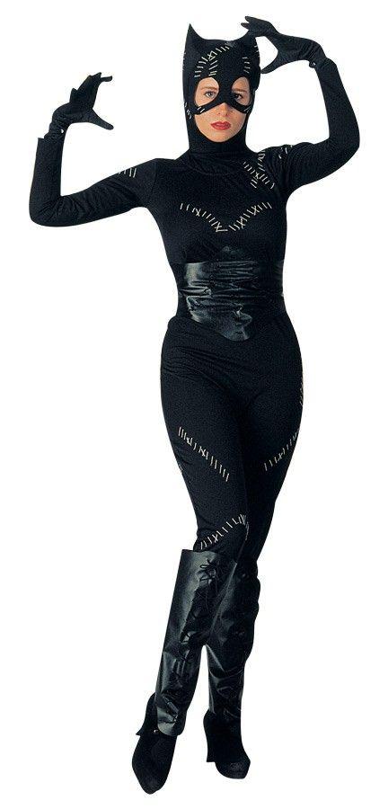 Adult Catwoman Fancy Dress Women's Costume