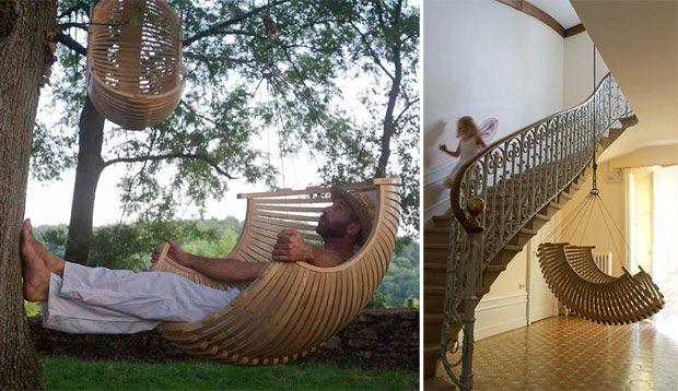 love this indoor/outdoor swing chair