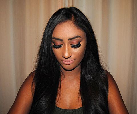 Patricia Simas Make up Shoot for Andrea Mahadeo