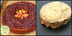 Was Mädchen wollen: Surprise Cake für den Liebsten {oder auch: bunte Süßigkeiten im Kuchen)