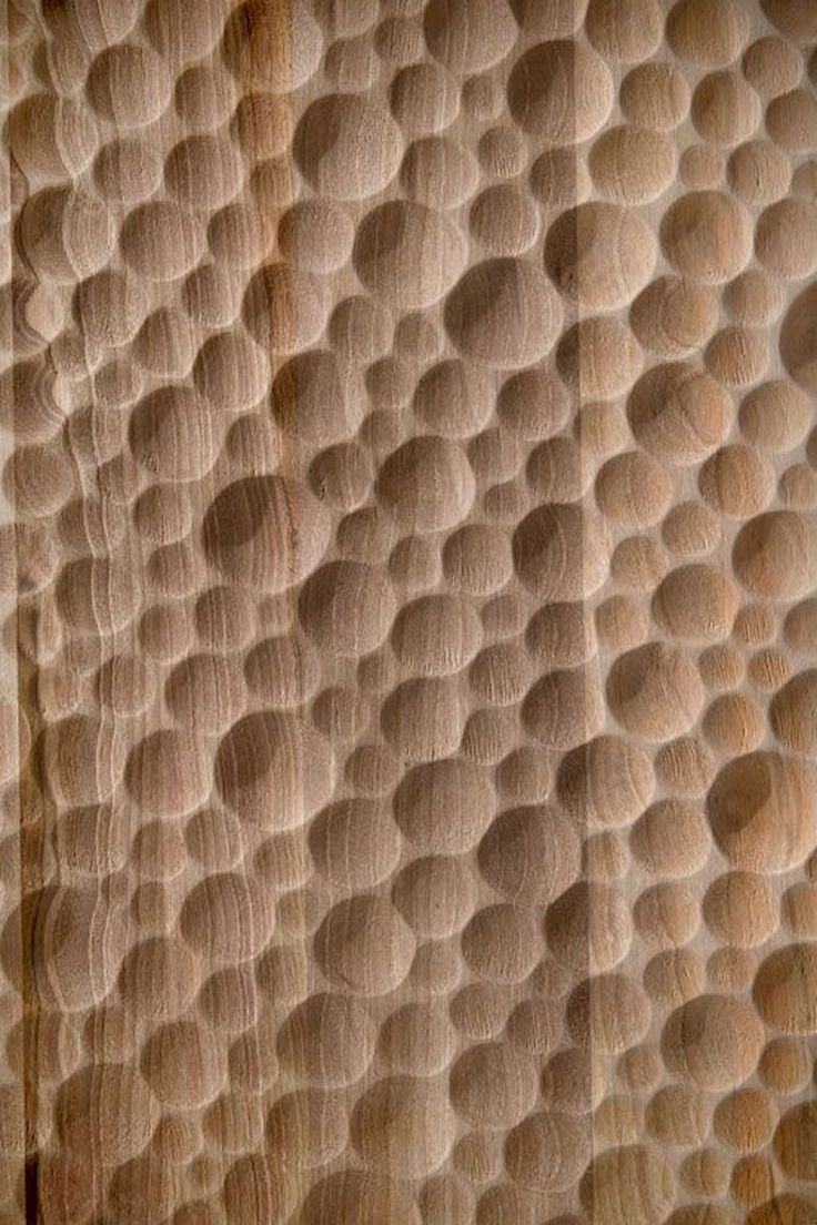 Wood Wall Sculpture Texture