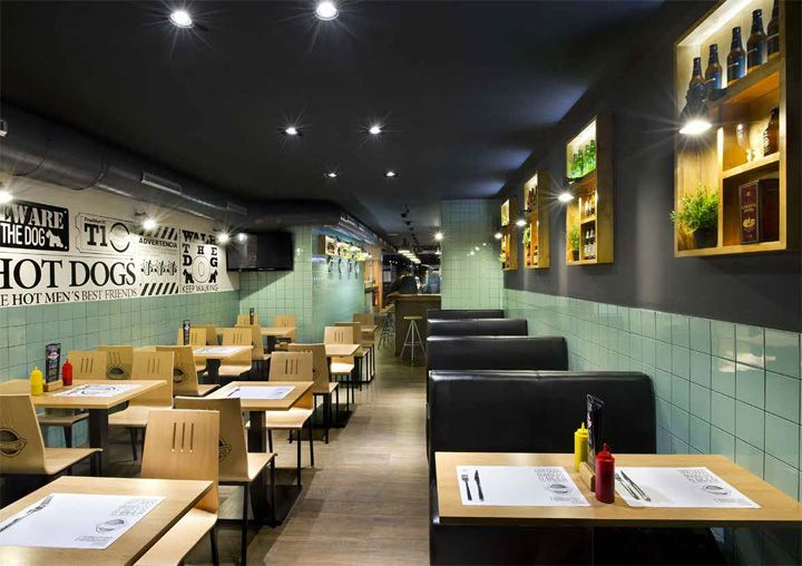frankfurt station fast food restaurant by egue y seta. Black Bedroom Furniture Sets. Home Design Ideas