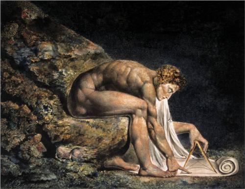 Isaac+Newton+-+William+Blake