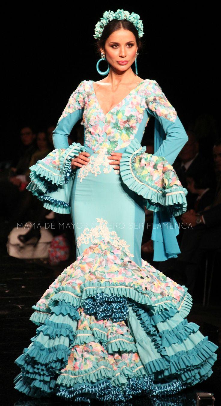 METAMORFOSIS – Ana Morón | Moda Flamenca por Elena Rivera vía Mamá de Mayor Quiero Ser Flamenca.
