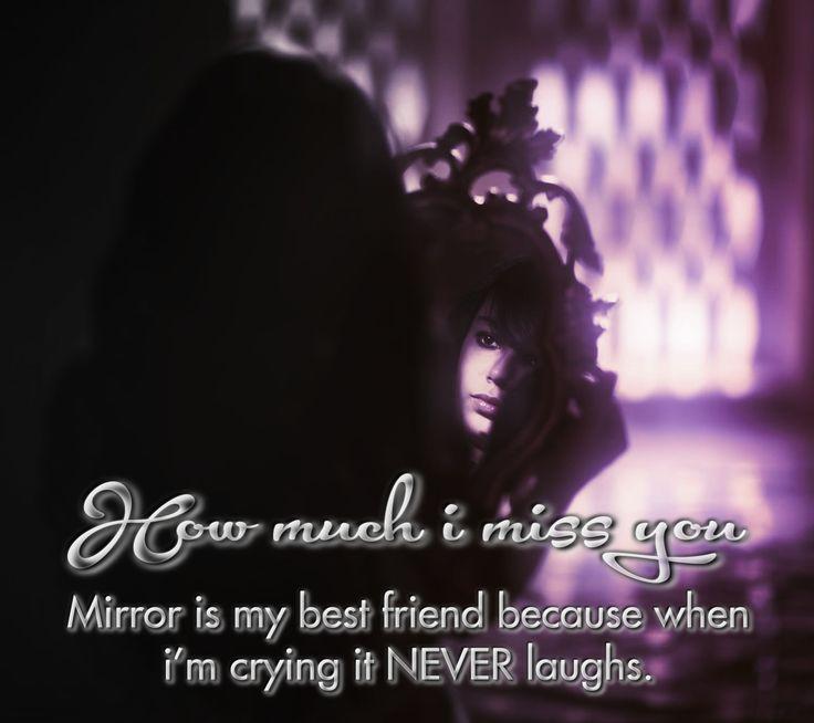 Ich vermisse wirklich meinen Freund