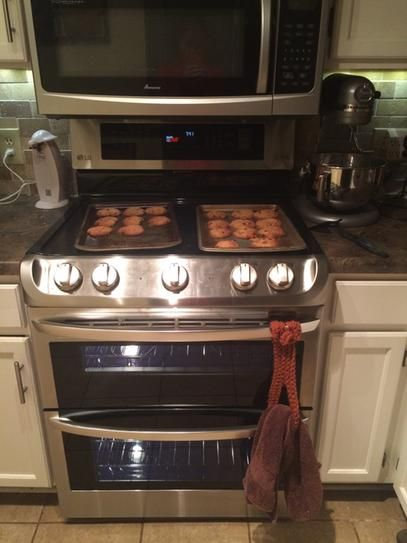 LG Electronics 7.3 cu. ft. Double Oven Electric Range with ProBake Convection Oven in Stainless Steel LDE4413ST at The Home Depot - Mobile