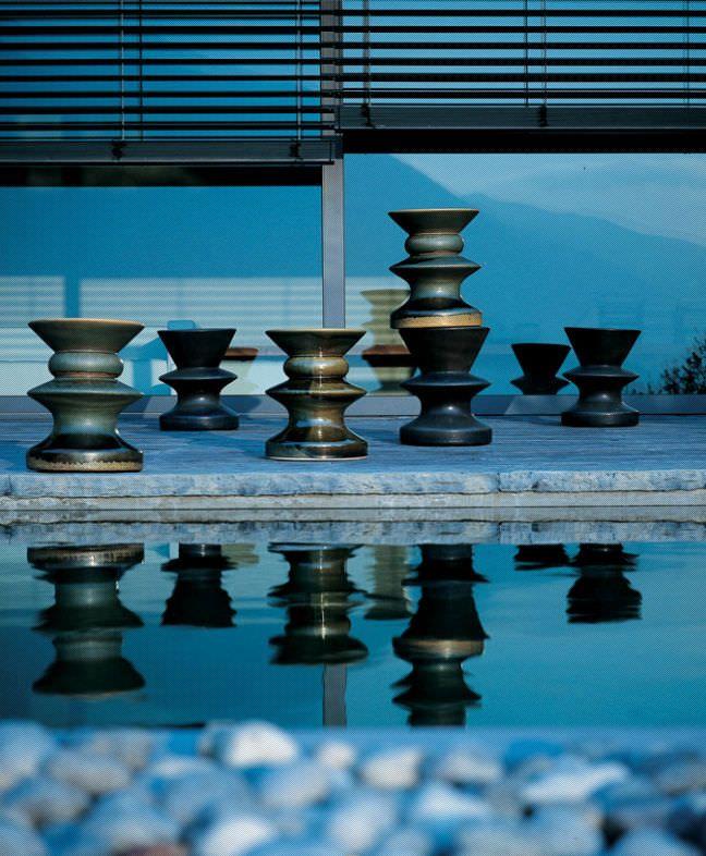 Side Table / Contemporary / Porcelain / Outdoor   ZEUS By Prospero Rasulo    Zanotta