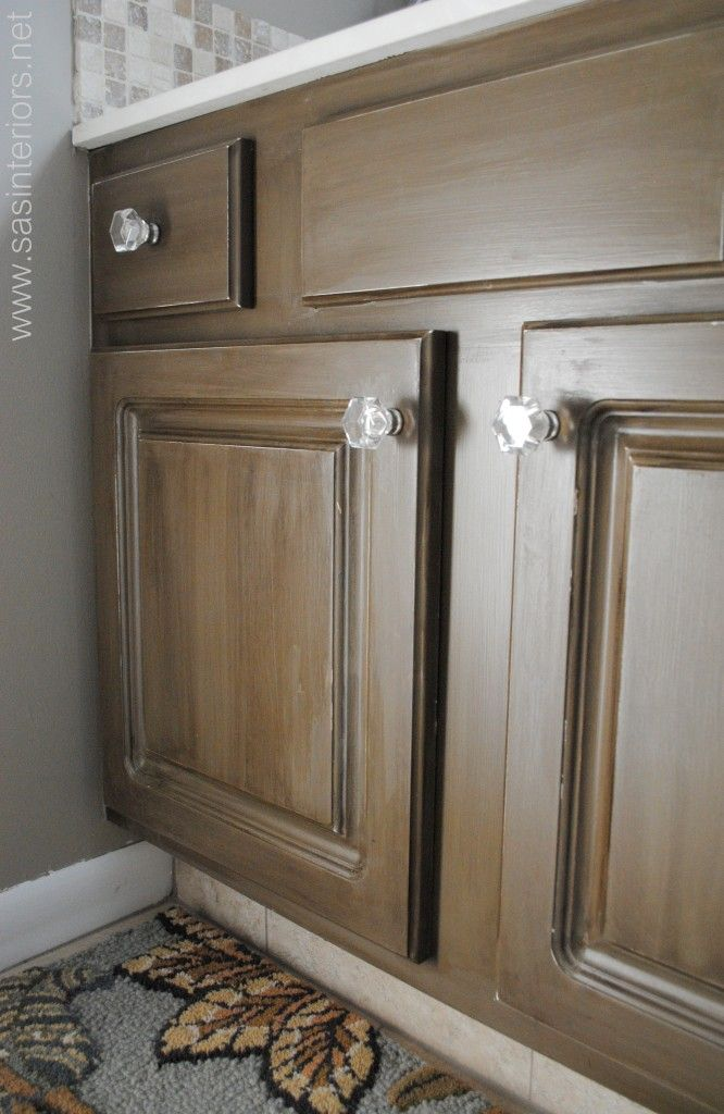 Cabinets Furniture Woodworks Refinishing A Bathroom Vanity Woodworking Projects Plans