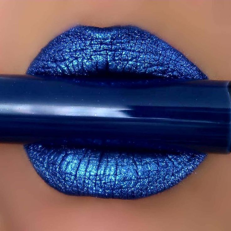 "2,528 Likes, 12 Comments - Pretty Zombie Cosmetics®  (@prettyzombiecosmetics) on Instagram: ""Midnight liquid lipstick with Blue lip shimmer on top #prettyzombiecosmetics #bluelipstick…"""
