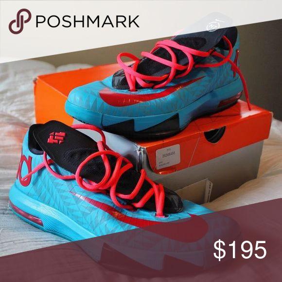 NIKE KD VI KD 6 KEVIN DURANT N7 626368 466 NIKE KD VI KD 6 KEVIN DURANT N7 626368 466 Nike Shoes Sneakers