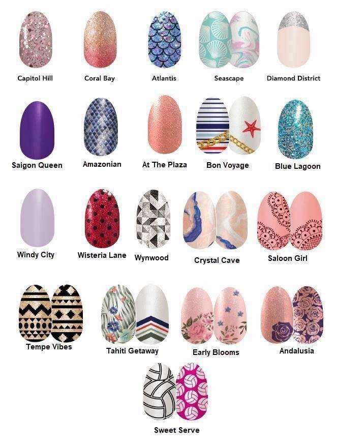 Color Street 100 Nail Polish Strips Spring Nails 2018 Color Street Nails Color Street Spring Line