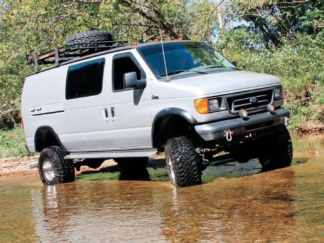 Hank Williams III's 2004 Ford E-350