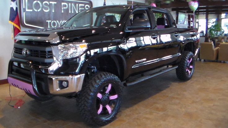 Our Pinked Out 2014 Toyota Tundra for