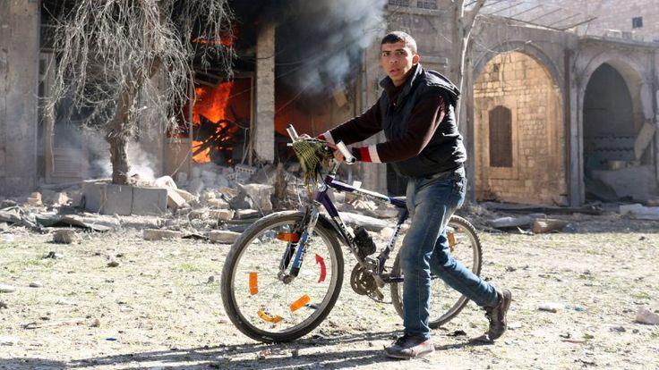 Krieg in Syrien: Aleppo wird ausgelöscht - und die Welt schaut zu - SPIEGEL ONLINE - Nachrichten - Politik