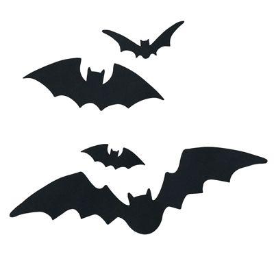 Bat-Filled Front Door- Halloween Craft Ideas - Country Living