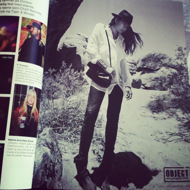 #soundvenue #septemberissue #objectcollectorsitem #blackandwhiteAD #presentingfall #arizonaleggingspant #anholttunic