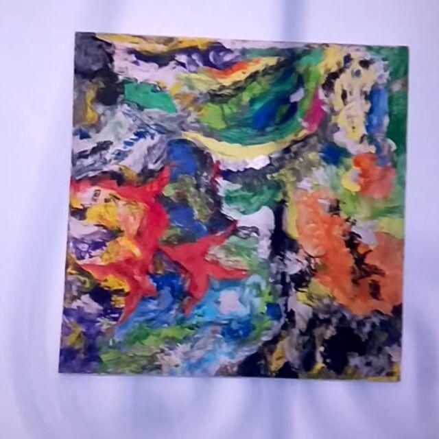 My new painting -1mx1m - technique mixte - #zahia #zahiapeintre #dunkerque #abstractart #abstract #videooftheday #painter #artofinstagram #artists #artofvisuals #nordpasdecalais #gallery #artists #artofdrawing #instacool  #contemporaryart