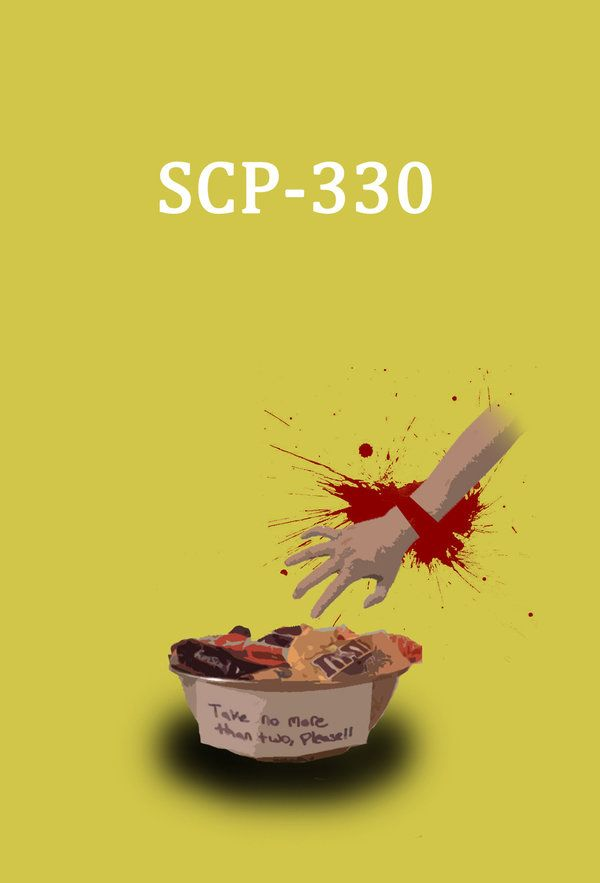Item #: SCP-330  Object Class: Safe  Special Containment Procedures: Considering recent incidents, SCP-330 is to be kept in secure storage until further notice. Level 2 Clearance is required for access to SCP-330 or its contents. All direct experimentation of SCP-330 is to be conducted using Class D personnel with no genetic history of diabetes. No more than two (2) samples are to be removed from SCP-330 at any time, except during exposure testing.  Description: SCP-330 appears to be a small…
